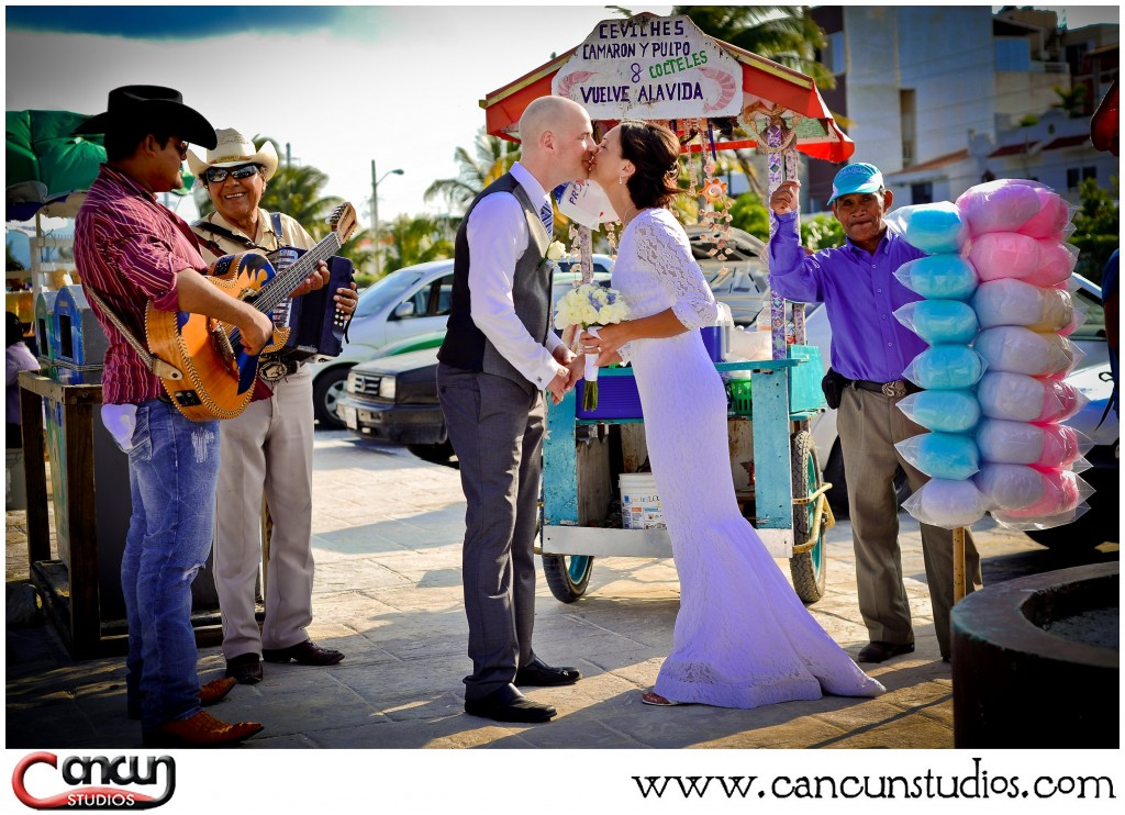 Cancun Trash the Dress Photography