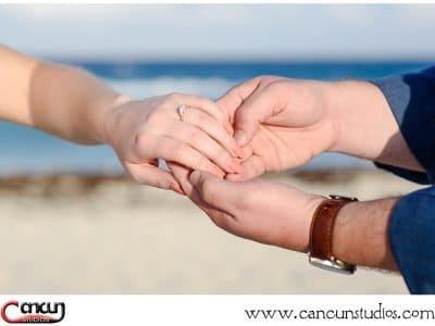 Cancun Marriage Proposal